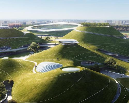 Lead architect Ma Yansong said the new campus will build on the