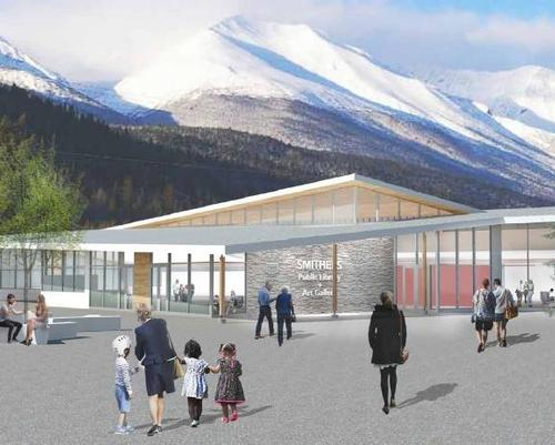 Canadian art gallery and library proposal seeks state permission for approval