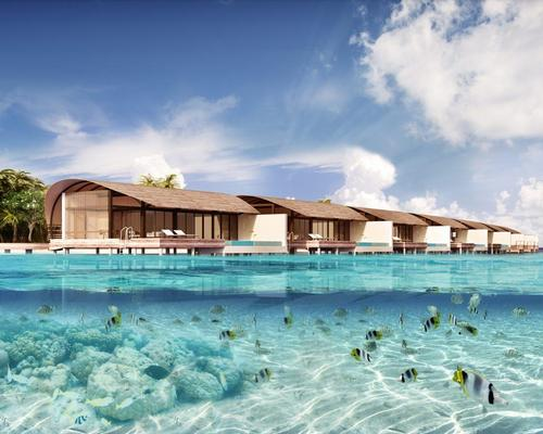 Like Westin's other venues, the Maldives hotel is intended to emulate what the company has called the