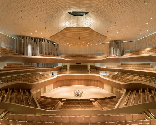 Mecanoo reveal historic mega-theatre in Taiwan