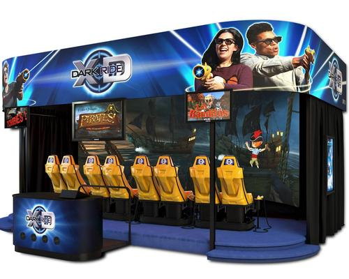 Andretti's San Antonio branch is the fourth Andretti location to install Triotechs XD Dark Ride