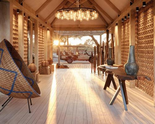 Muza Lab creates eco-friendly 'explorer's camp' in Botswana
