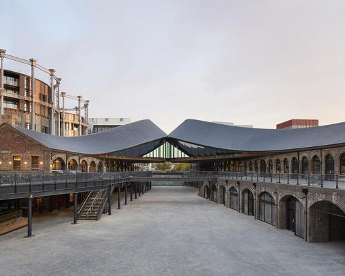 Heatherwick Studio consulted with Historic England to see how various architectural elements from the Victorian period could be retained. / Photo by Hufton + Crow