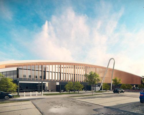 Facilities at the Burke Rickhards-designed centre will include a 10-lane, 25m swimming pool and a large health club