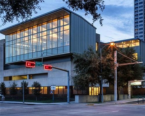 The new centre sits across the road from MFAH's curatorial offices and includes 23,796sq ft (2,211sq m) of conservation studios and support space  / Museum Fine Arts, Houston/Richard Barnes