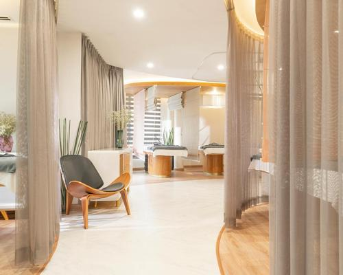 Vietnamese spa inspired by the transformation of the butterfly