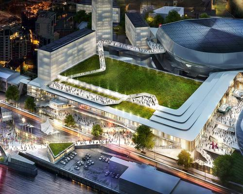 In a statement, John Rhodes, director of sport and entertainment at HOK, called Gateshead Quays