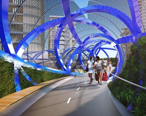 Sydney urban village to get eco-friendly cycleway bridge
