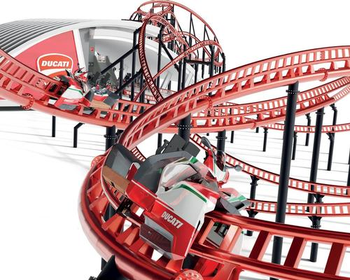 Maurer to open Ducati-themed coaster at Mirabilandia Park