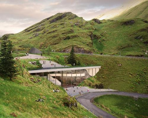 Situated at the famous Rest and Be Thankful road, a dedicated hill climb course since 1949, the Scottish Motorsport Heritage Centre will, if built, sit near the top of the climb at the hairpin of the road