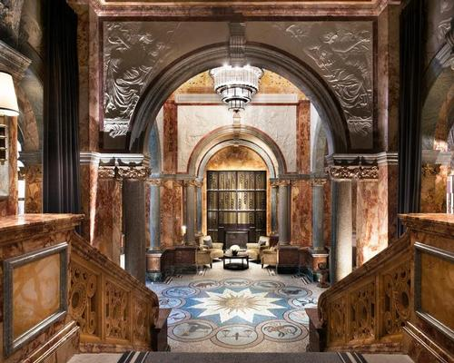 Tara Bernerd & Partners designed the Kimpton Fitzroy's interiors. / Courtesy of IHG