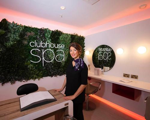 The Clubhouse spa will offer a range of personalised treatments including manicures and hand massages