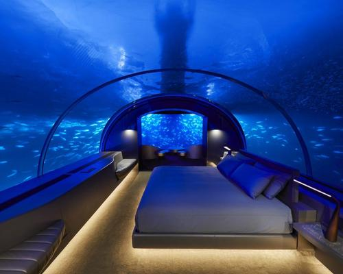 Undersea living: Maldives unveils world's first underwater villa