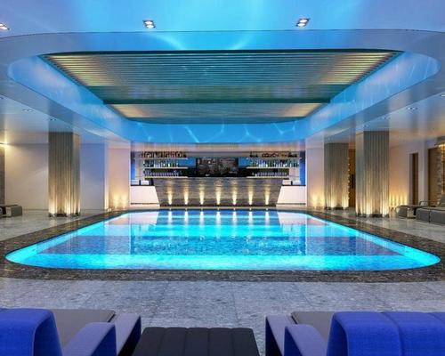 The new Kalloni Spa will feature 14 treatment rooms and five seawater thalassotherapy pools