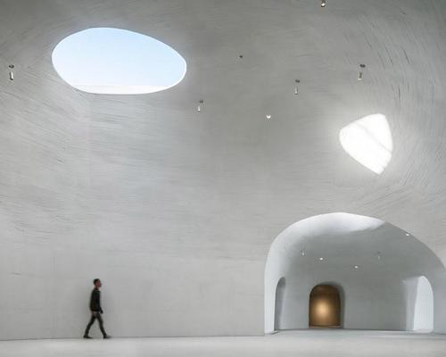 The museum – UCCA's first project in the area – has been in the pipeline for three years. / Photo by WU Qingshan