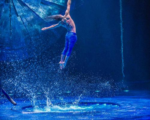 Whitewater is planning to create waterparks based on the Cirque du Soleil brand