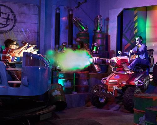 Justice League: Battle for Metropolis at Six Flags Magic Mountain, was among this year's winners