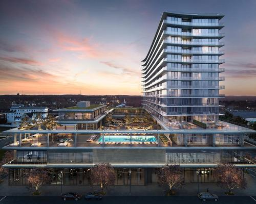 Handel Architects design ocean club and resort at historic Asbury Park