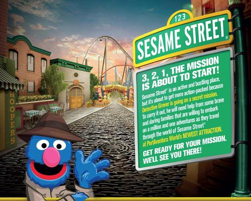 Sally Corp to bring Sesame Street to PortAventura World