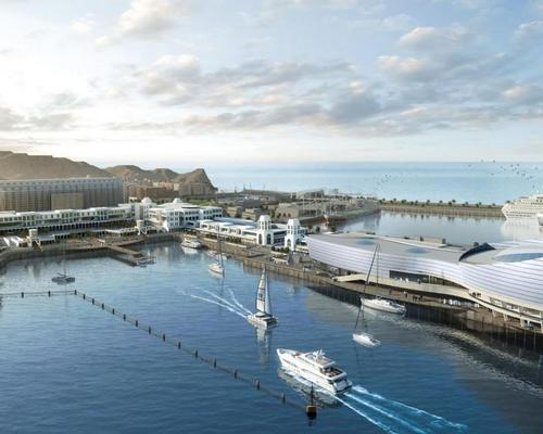 The project will be a tourism and cultural gateway for the port and the district of Muscat / Omran