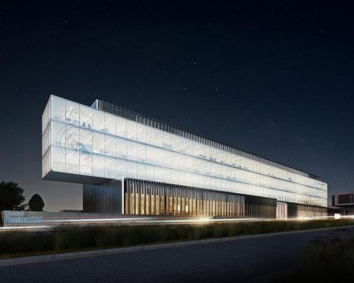 The new commercial headquarters of Real Madrid will be designed by Spanish studio Rafael de La-Hoz / Rafael de La-Hoz