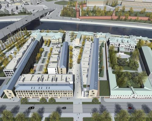 The site is being developed on wasteland in the heart of Moscow / Sergey Skuratov Architects (SSA)