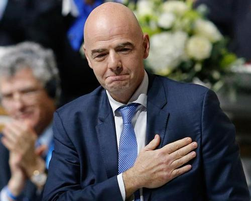 Infantino said that 'history must be respected' in relation to a potential bid