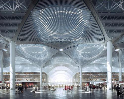 The Grand Airport City will be minutes away from the New Istanbul Airport, which will be one of the largest in the world / Grimshaw Architects