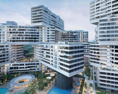 World Building of the Year: OMA and Buro Ole Scheeren's Interlace housing development in Singapore