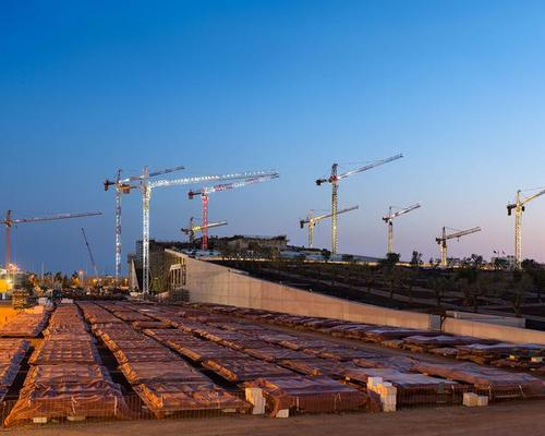 Construction is expected to be completed by the end of 2015 / Renzo Piano Building Workshop