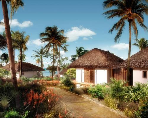 Sun shines on Zanzibar all year round, and will help power the resort / Jestico + Whiles