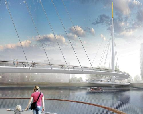 Bystrup and Robin Snell win plaudits for vision of London's spiralling car-free bridge