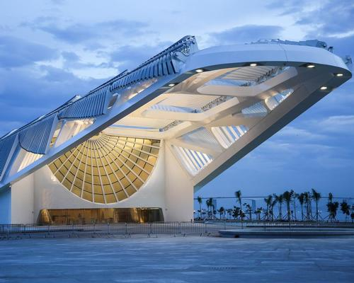 The museum has been designed as a symbol of Rio's exciting future / Santiago Calatrava Architects and Engineers