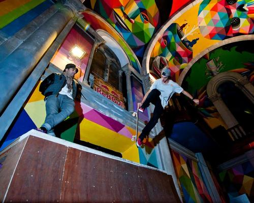 The collective behind the design say they've created 'a temple of urban art' / The Church Brigade