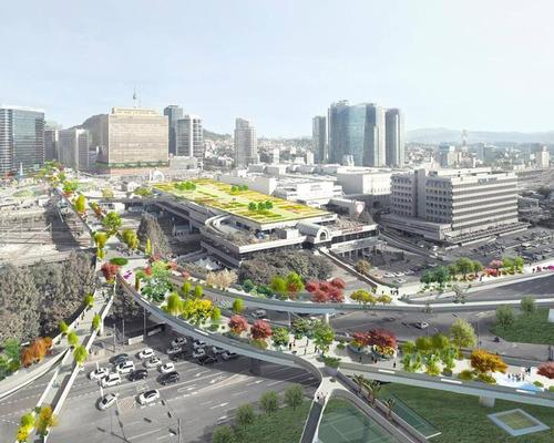 The project aims to create a greener, more attractive and accessible neighbourhood in the heart of the city / MVRDV