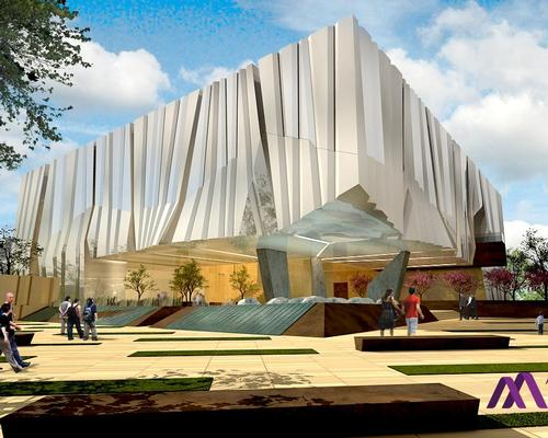 The museum will be a cultural campus educating the public on the Armenian American story and cultural diversity / Armenian American Museum