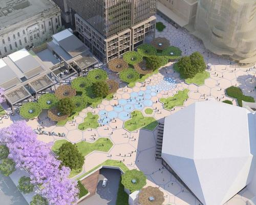 The regeneration covers 26,000sq m of public space / Renewal SA
