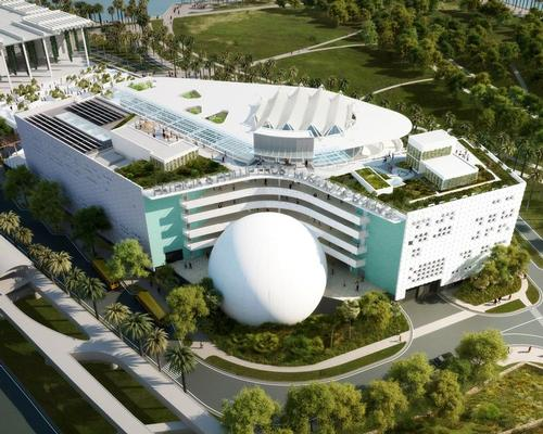 The museum was scheduled for completion in 2015 / Patricia and Phillip Frost Museum of Science