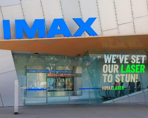 IMAX has applied for a permit to open an indoor cycling studio