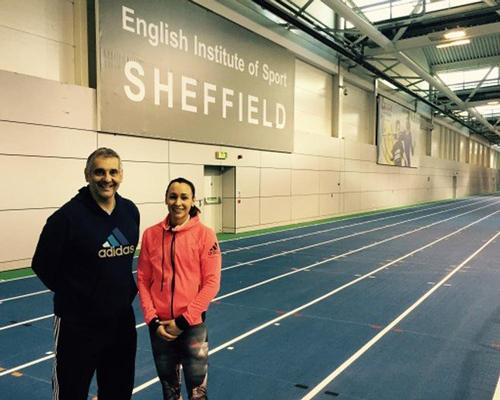 The track used by Ennis-Hill to train on is also available for local community use / British Athletics