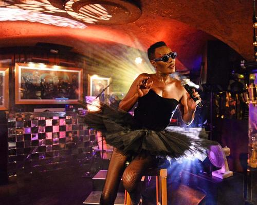 Annabel's has played host to some of the biggest names in showbiz, including Grace Jones (pictured)
