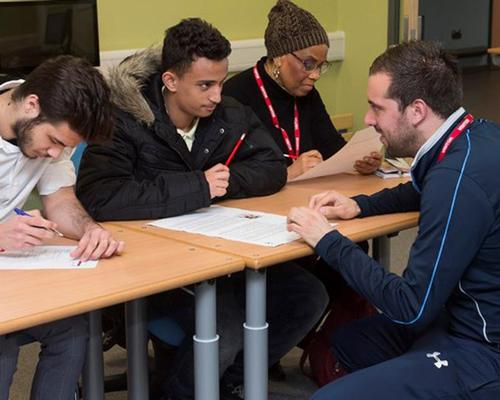 100 local youngsters will receive hands-on training and classroom support / Tottenham Hotspur Foundation