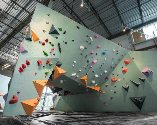 The design was created by Dylan Johnson of DJA Architects, with local studio Lilianne Steckel also contributing to the interiors / Austin Bouldering Project