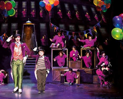 Entrants are invited to design sets and costumes for Charlie and the Chocolate Factory / Johan Persson