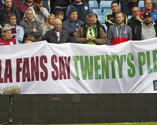 The Twenty's Plenty campaign claims Premier League clubs should cap away ticket prices at £20 each / Action Images