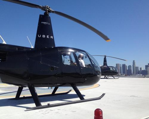 Forget Arnie, Uber wants 'Get to the chopper' to become a common phrase for travellers / Uber