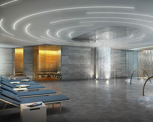 A Turkish-style Hammam and spa will also feature / Moinian Group