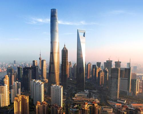 The newly-completed building is the tallest in China, and the second-tallest in the world / Gensler