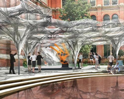 The exhibition will take place in the museum's John Madjeski Garden / V&A Museum