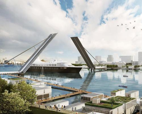The practice has proposed six new bridges to the east of Tower Bridge / Farrells